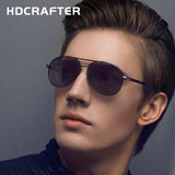 HDCRAFTER Brand Designer Fashion Sunglasses Polarized Oval