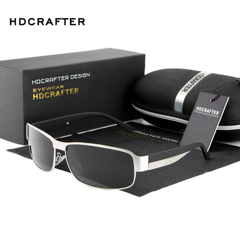 HDCRAFTER Fashion Driving Sun Glasses Polarized Sunglasses UV400 Protection