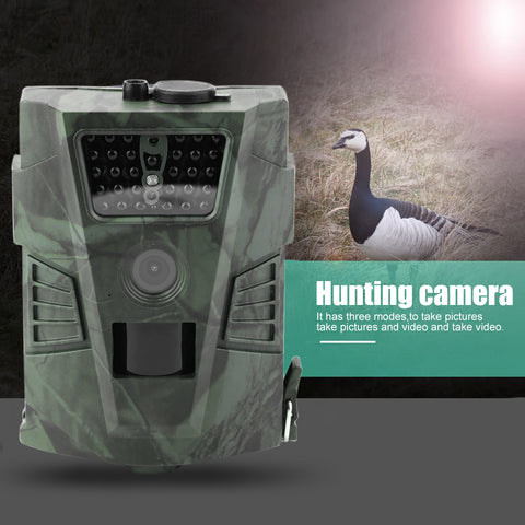 HT-001 HD 8MP 32GB Day Night 60 Degrees Detection Hunting Camera Outdoors Digital Hunting Trail Video Camera LCD Wildlife 720P