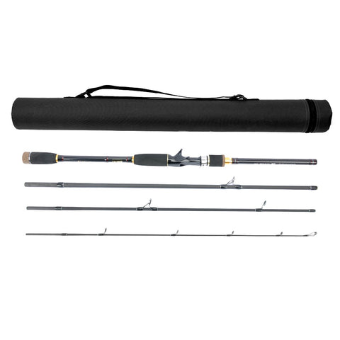 JEKOSEN Fishing Casting Rod 1.8-2.7M 3 to 4-Piece Fishing Rod weight 0.35-0.9oz(10-25g) BaitCasting Rods -Medium Power