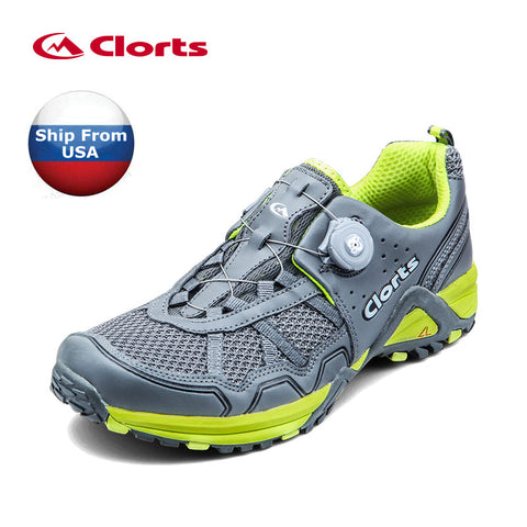 2018 Clorts Men Trail Running Shoes Breathable Mesh Shoes For Men