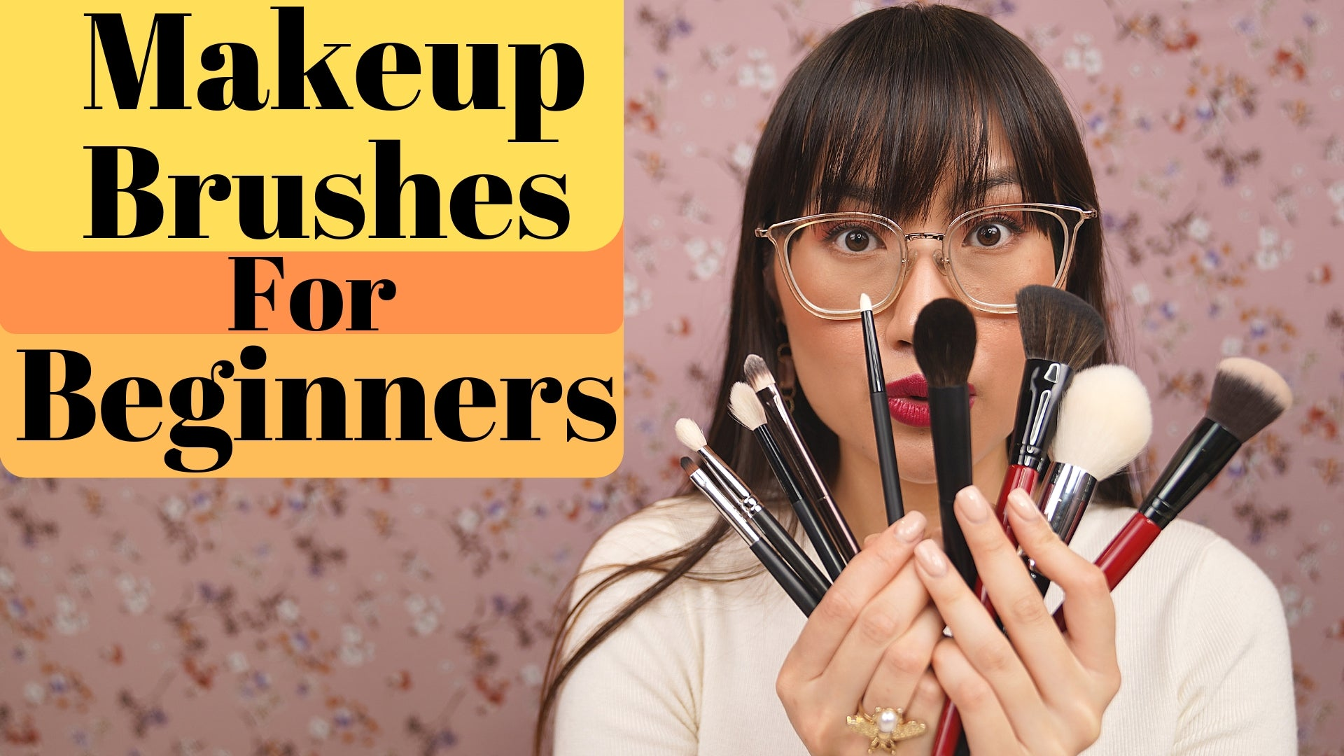 Makeup Brushes For Beginners | Zoeva | Smashbox | Body Shop | Hourglass | MAC Cosmetics | Rae Morris