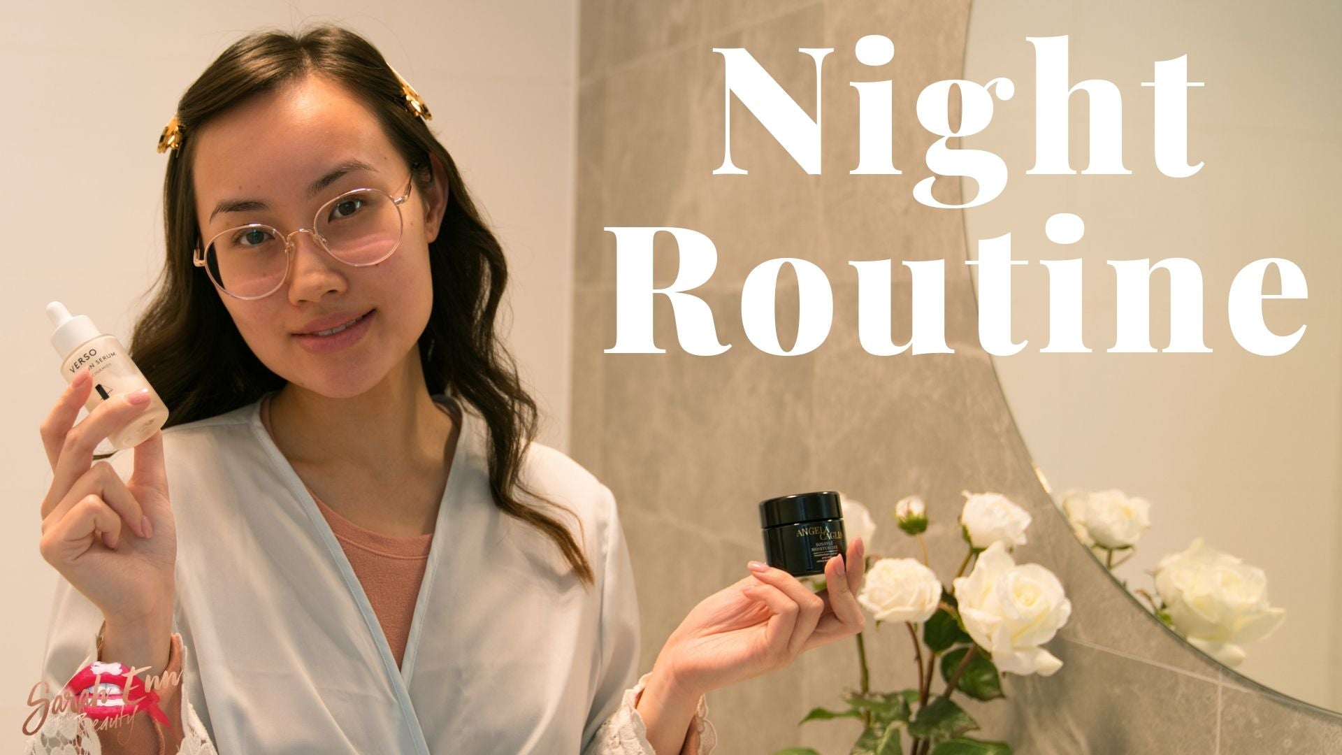 Skincare Routine | My 8 Step Night Skincare Routine | Sarah Enn