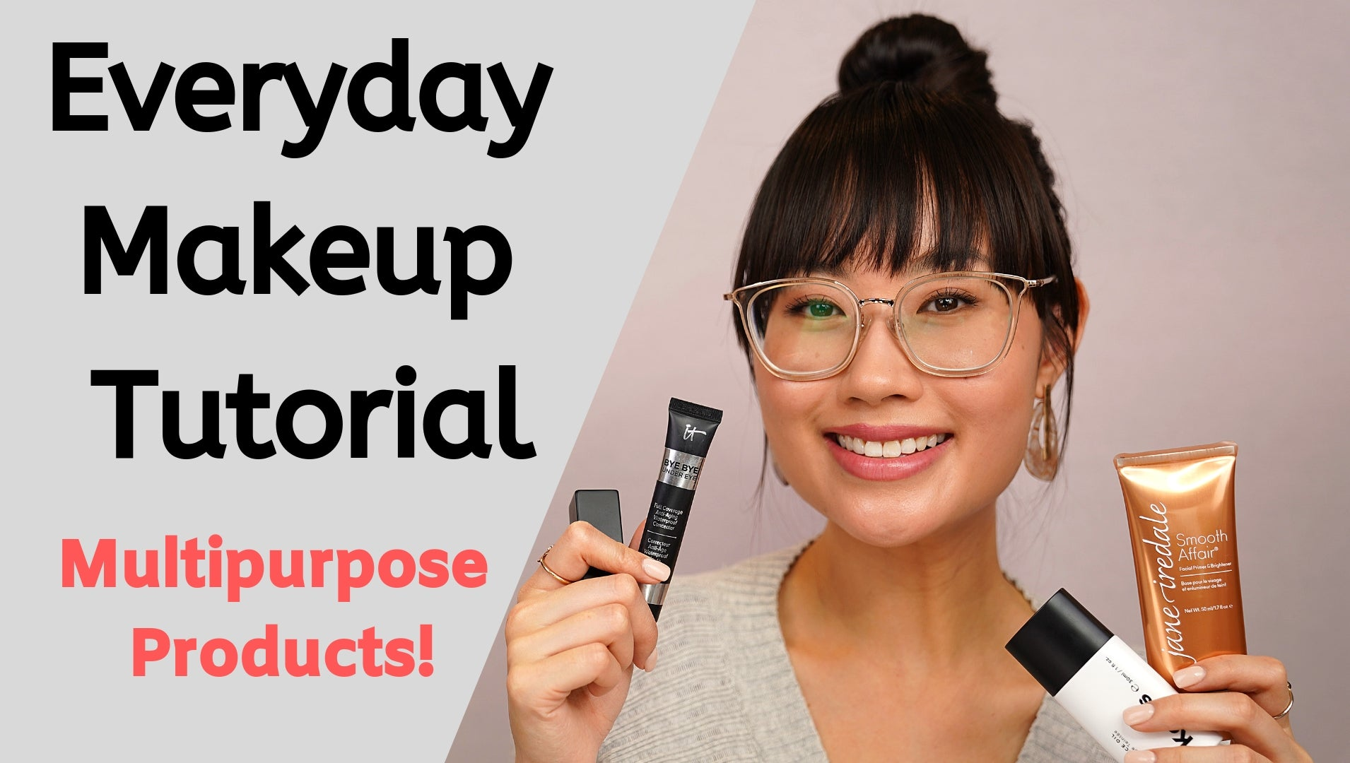Everyday Makeup Tutorial 2019 | Multipurpose Products