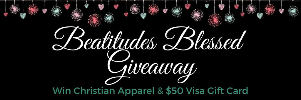beatitudes blessed giveaway