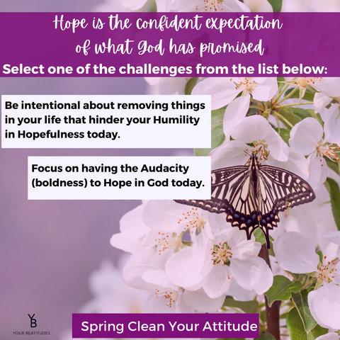 Spring clean your attitude challenge day 3