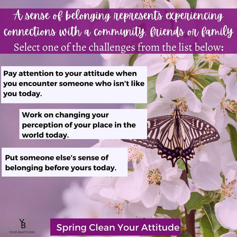 Spring clean your attitude challenges for day 4