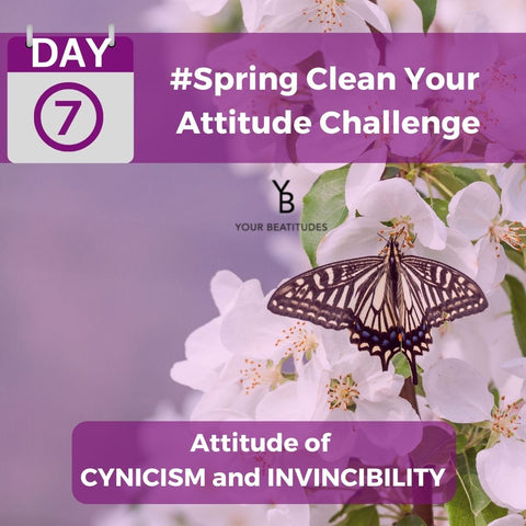 Day 7 of Attitude challenge - Attitude of cynicism