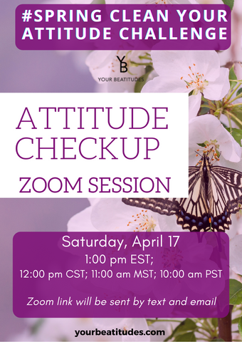 Day 6 of Attitude challenge - Zoom session