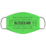 Beatitudes Face Mask Green