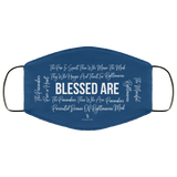 Beatitudes Face Mask Blue
