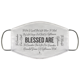 Beatitudes Face Mask White