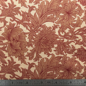 Chrysanthemum Toile - Red