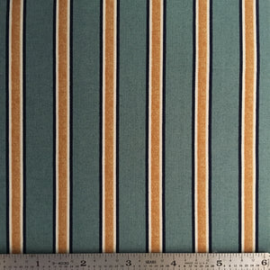 Gilt Stripe - Blue