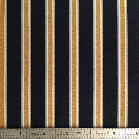 Gilt Stripe - Navy