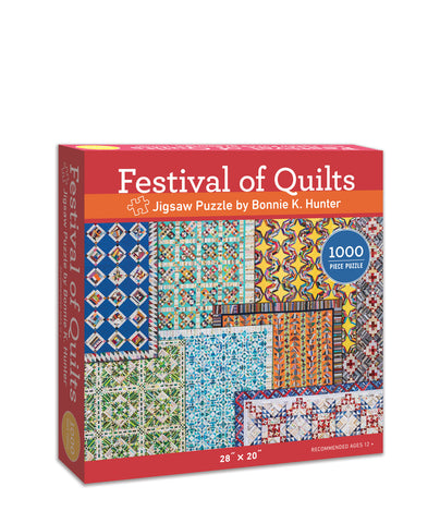Festival of Quilts- 1000 Piece Puzzle