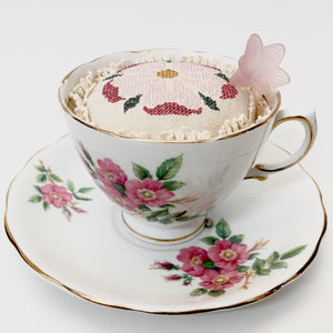 Pin Cushion in a Teacup - Class - Wednesday December 4th