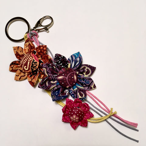 Cotton Batik Keychain