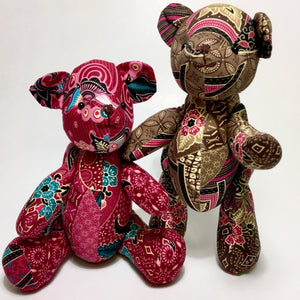 Cotton Batik Bears