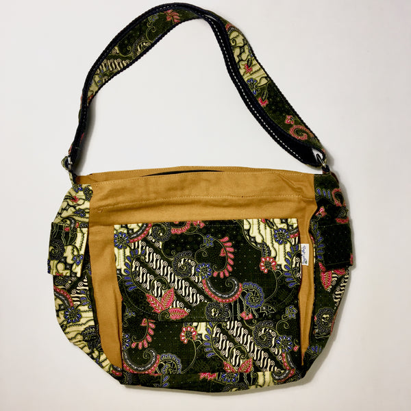 Cotton Batik Shoulder Purse