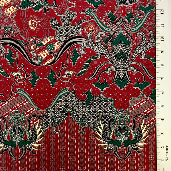 Allover Batik - Red