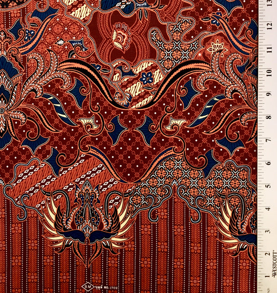 Allover Batik - Orange