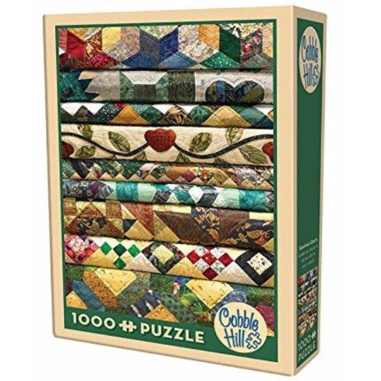 Grandma's Quilts 1000 Piece Puzzle