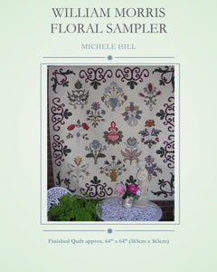 William Morris Floral Sampler - Pattern