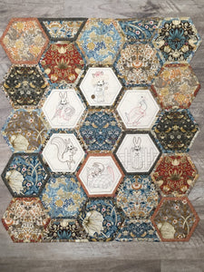 Beatrix Potter Hexies  - 4 Classes
