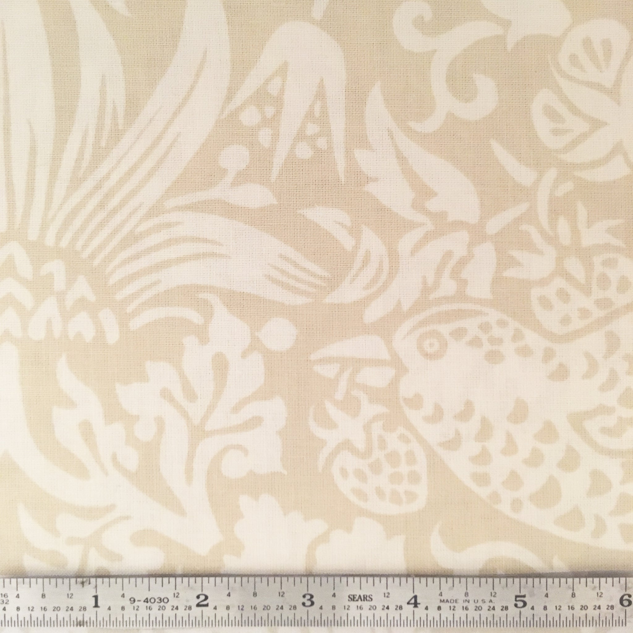 "Strawberry 108"" Thief Backing - Linen"