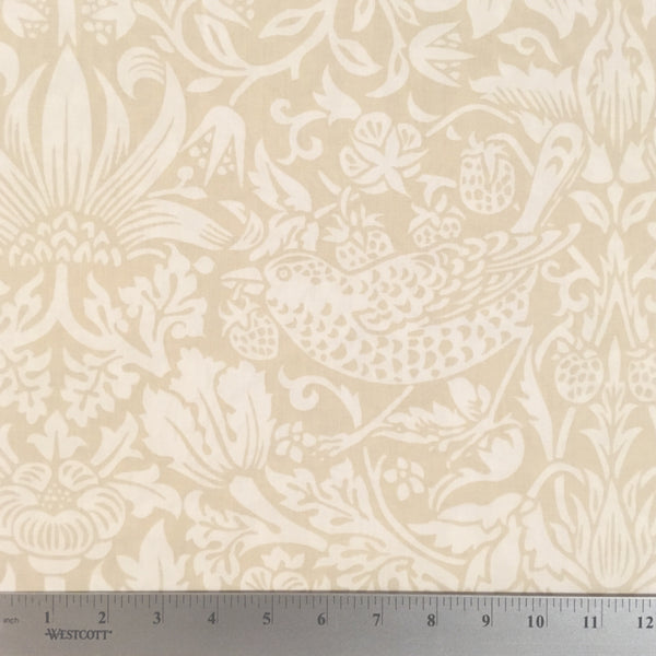 "Strawberry Thief 108"" Backing - Linen"