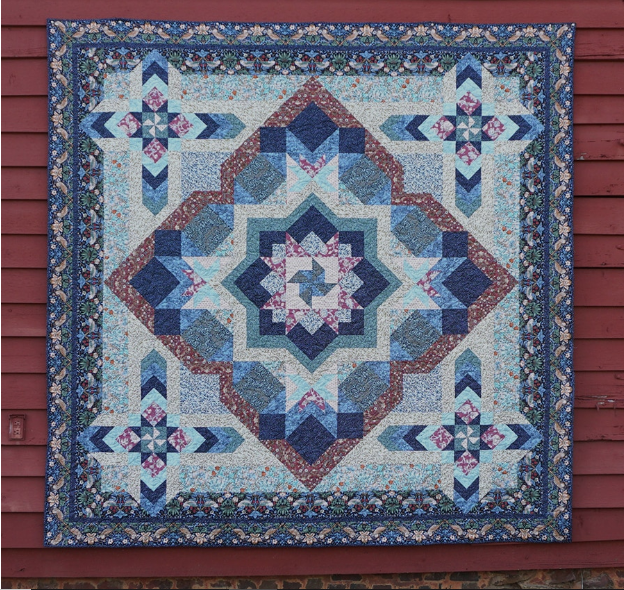 Morris Medley Quilt - Block of the Month