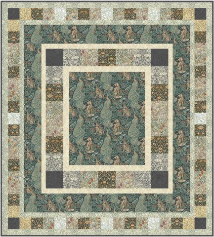 Standen Round Quilt  - Quilt Top Kit