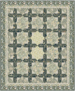 "Scottish Cross - Quilt Top Kit - 70"" x 84"" - Confident Beginner"