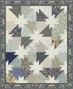 "Southern Stars - Mineral - Quilt Top Kit - 50"" x 68"" - Intermediate"