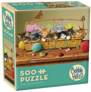 Basketcase 500 Piece Puzzle