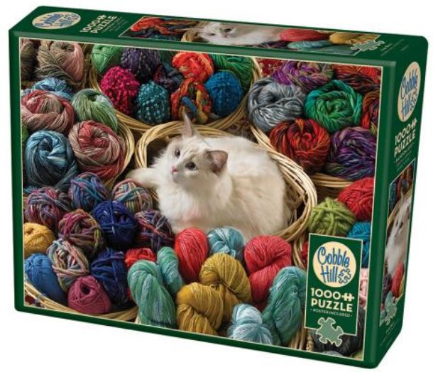 Fur Ball 1000 Piece Puzzle