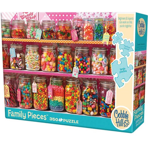 Candy Counter 350 Piece Family Puzzle