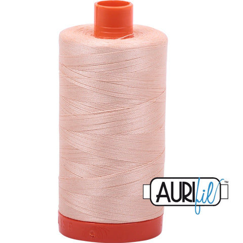 Aurifil Cotton 50wt Thread - 1300 mt - 2205 - Apricot