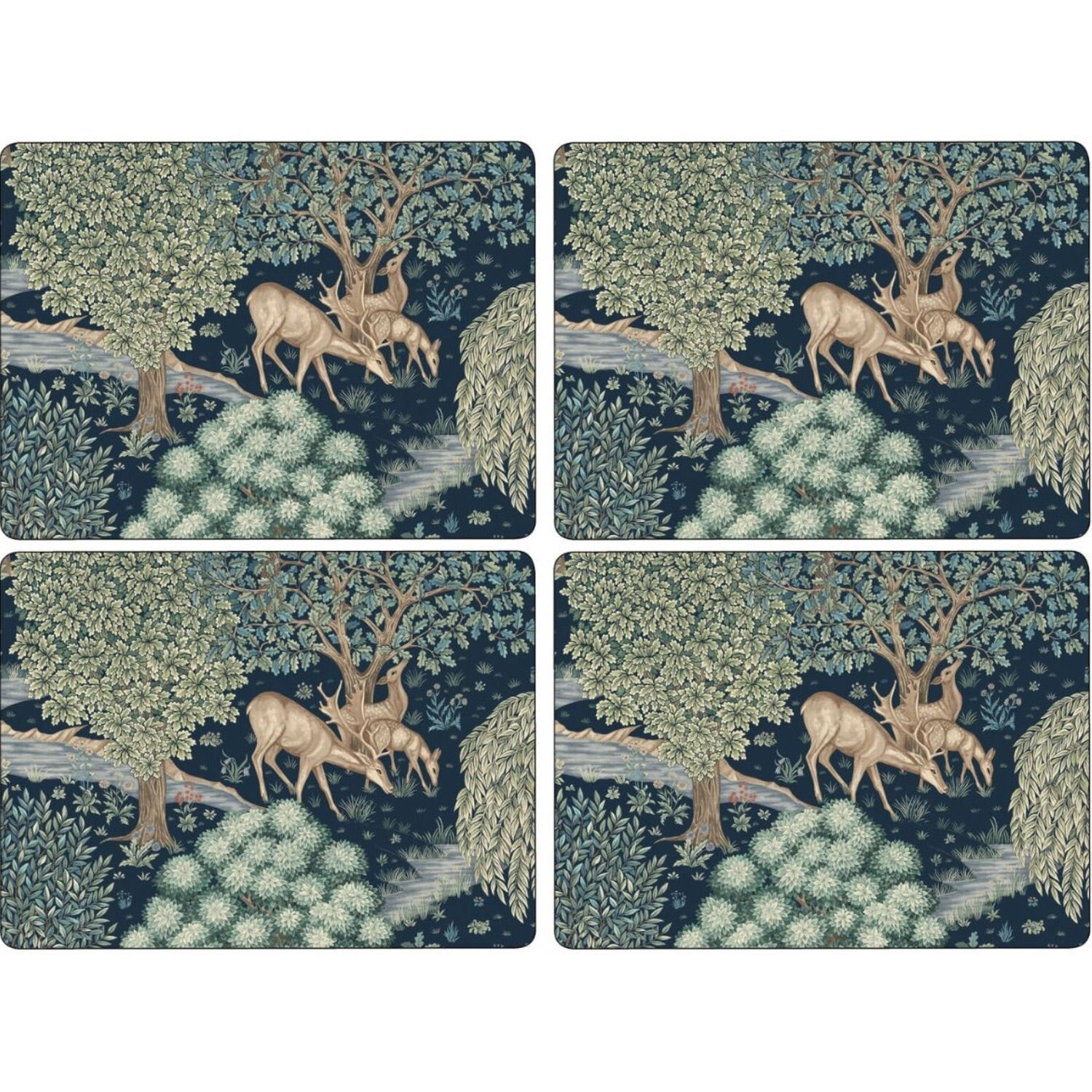 Morris & Co. Placemats -  Wightwick - Set of 4