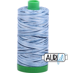 Aurifil Cotton 40wt Thread - 1000 mt - 4669 - Stonewashed Blues