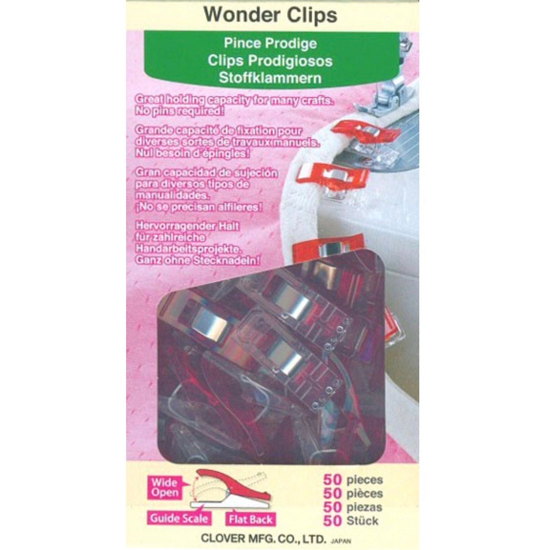 Wonder Clips - Small - 50 pc - Red