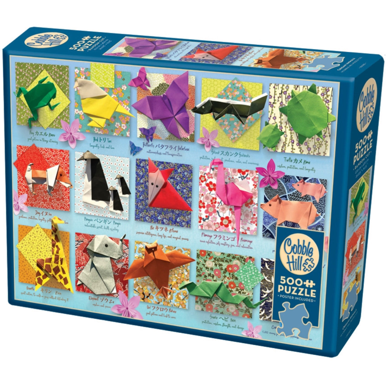 Origami Animals 500 Piece Puzzle