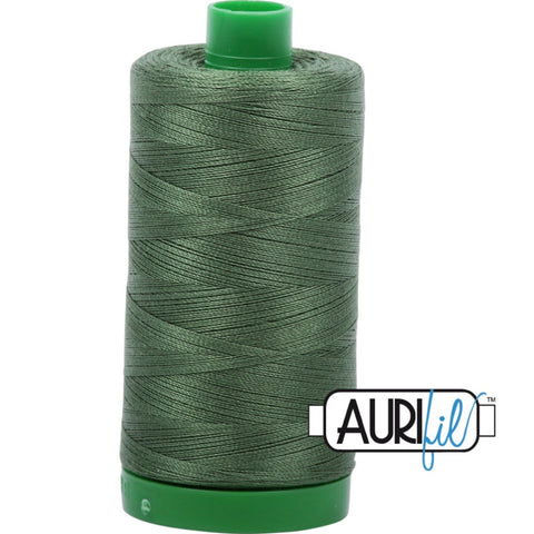 Aurifil Cotton 40wt Thread - 1000 mt - 2890 - Very Dark Grass Green