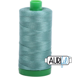 Aurifil Cotton 40wt Thread - 1000 mt - 2850 - Medium Juniper