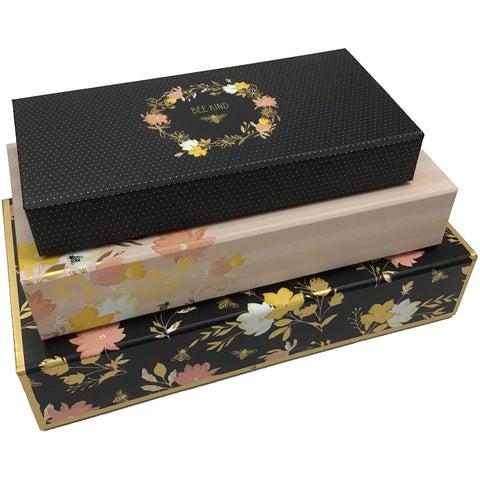 Busy Bee Pencil Box - Set of 3