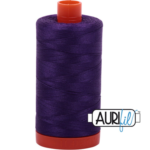Aurifil Cotton 50wt Thread - 1300 mt - 2545 - Medium Purple