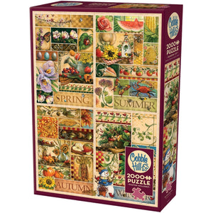Four Seasons 2000 Piece Puzzle