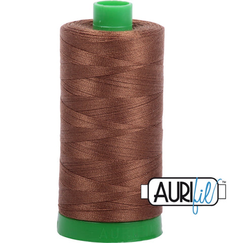 Aurifil Cotton 40wt Thread - 1000 mt - 2372 - Dark Antique Gold