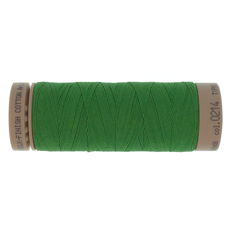Mettler Cotton 40wt Thread - 150mt - 0214 - Dark Olive Green